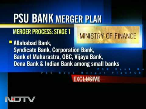 PSU bank mergers: 'Anchor' banks to lead way