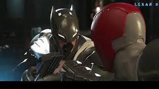 Injustice 2 - Бэтмен против Красного Колпака - Intros & Clashes (rus)
