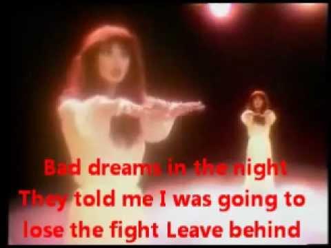 Kate Bush's Wuthering Heights Dance & Lyrics