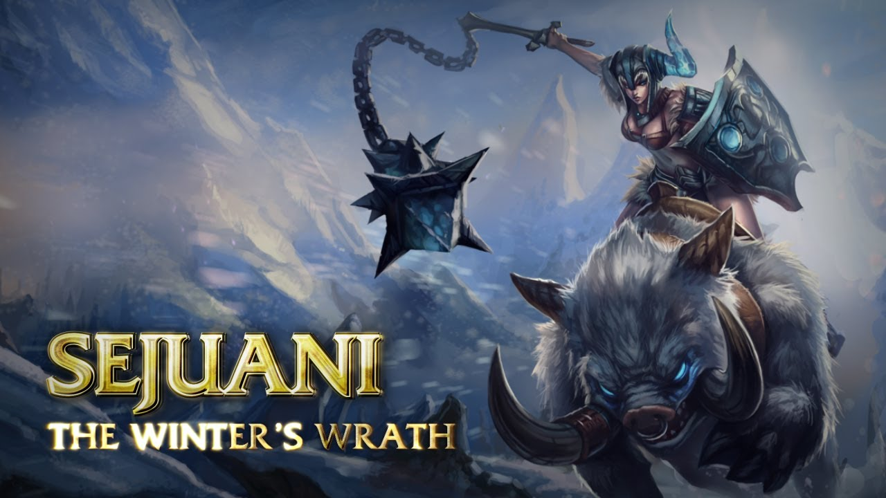 Sejuani Champion Spotlight - League of Legends Champion Spotlight featuring Sejuani, the Winter's Wrath, with expert strategy and tactics provided by Riot Games.