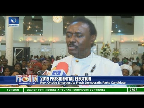 Okotie Emerges As Fresh Democratic Party Candidate