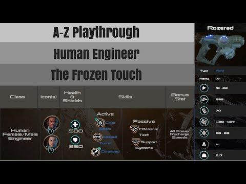 [ME:A MP][A-Z Series]Human Engineer w/ Rozerad [The Frozen Touch]