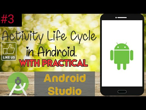 Android tutorial in Hindi for Beginners #3 | Activity life cycle in Android with Practical Proof. thumbnail