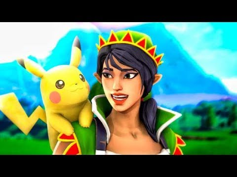 POKEMON EN FORTNITE !!! CREACIONES EPICAS MODO CREATIVO ! - ElChurches thumbnail