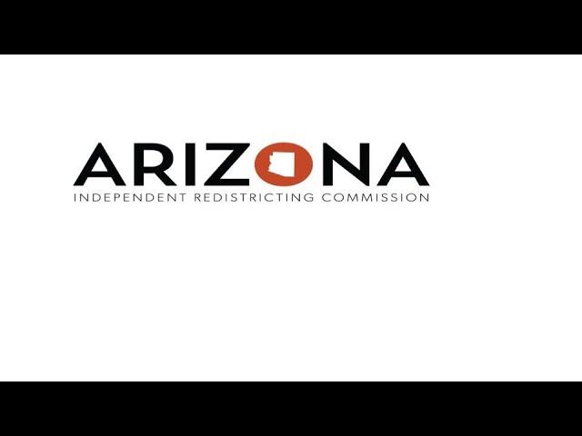 Arizona IRC Public Meeting Listening Tour Session 7.27.21