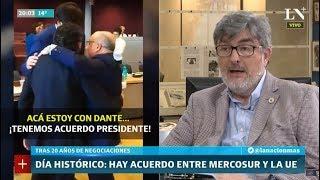 Sergio Suppo: Análisis del acuerdo histórico entre Mercosur y Union Europea
