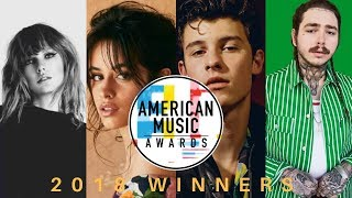 American Music Awards: 2018 Winners