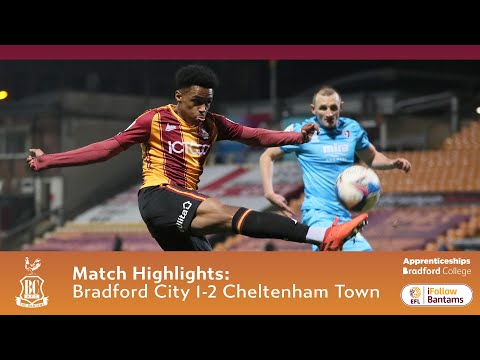 Bradford Cheltenham Goals And Highlights