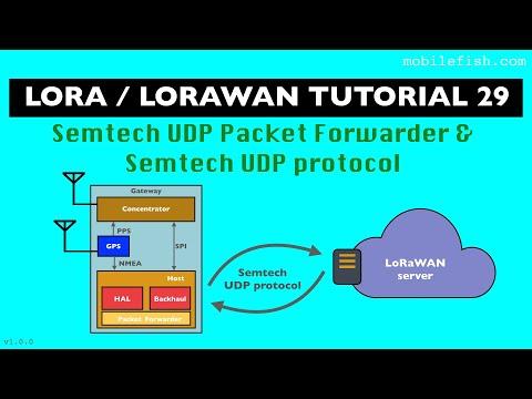 LoRa/LoRaWAN tutorial 29: Semtech UDP Packet Forwarder and Semtech UDP  protocol