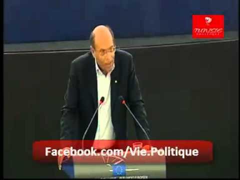 Discours de Marzouki devant le Parlement Européen
