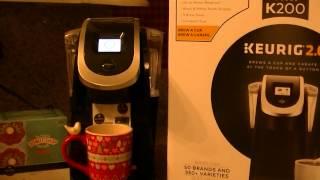 Keurig 2.0 Model K200  Coffeemaker Brew A Cup Or A Carafe