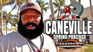 Miami hurricanes spring practice  - 10 apr.