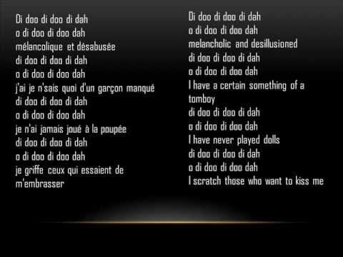 Jane Birkin, Di Doo Dah Cover (french/english lyrics)