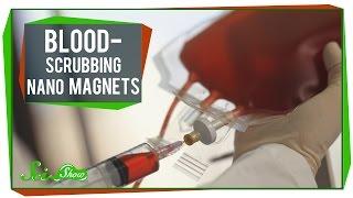 Blood Scrubbing Nano Magnets