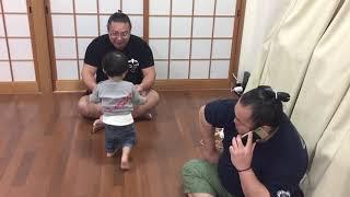 伊勢ケ濱部屋にて。2 伊勢ヶ濱親方 検索動画 30