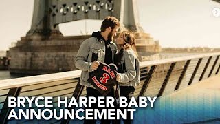 Bryce Harper and wife expecting baby boy!