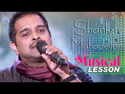 Shankar Mahadevan : Musical Lessons to WWI students| Learn Singing Art