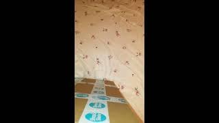 """Распаковка Shop & Show покрывала на кровать """"НОЧНОЙ БРИЗ"""" цвет Чародейка"""
