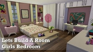 The Sims 4: Room Build - Girls Bedroom