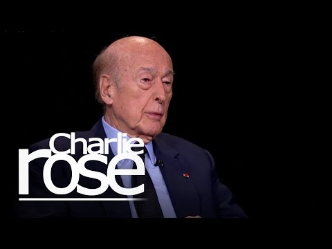 Valéry Giscard d'Estaing: I Approve of Russia's Annexation of Crimea (June 4, 2015) | Charlie Rose