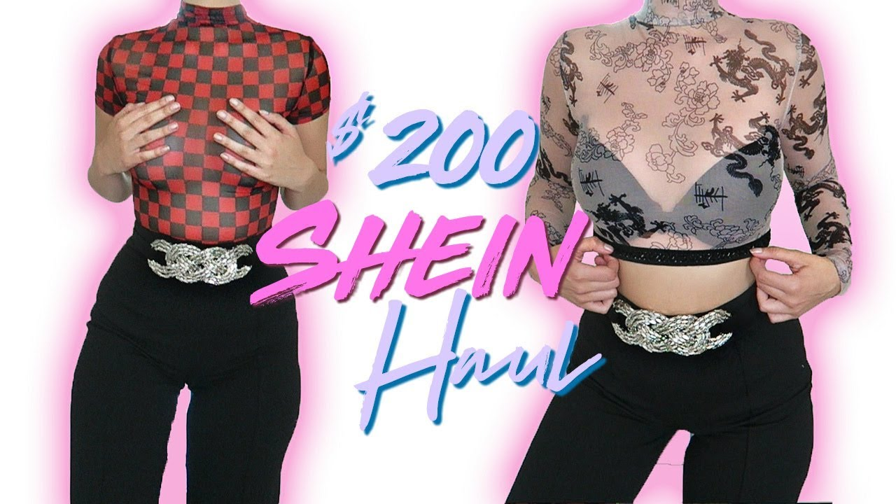 c90e169c47 $200 SHEIN SUMMER TRY-ON HAUL!! 🛍 | COCO Chanou - YouTube