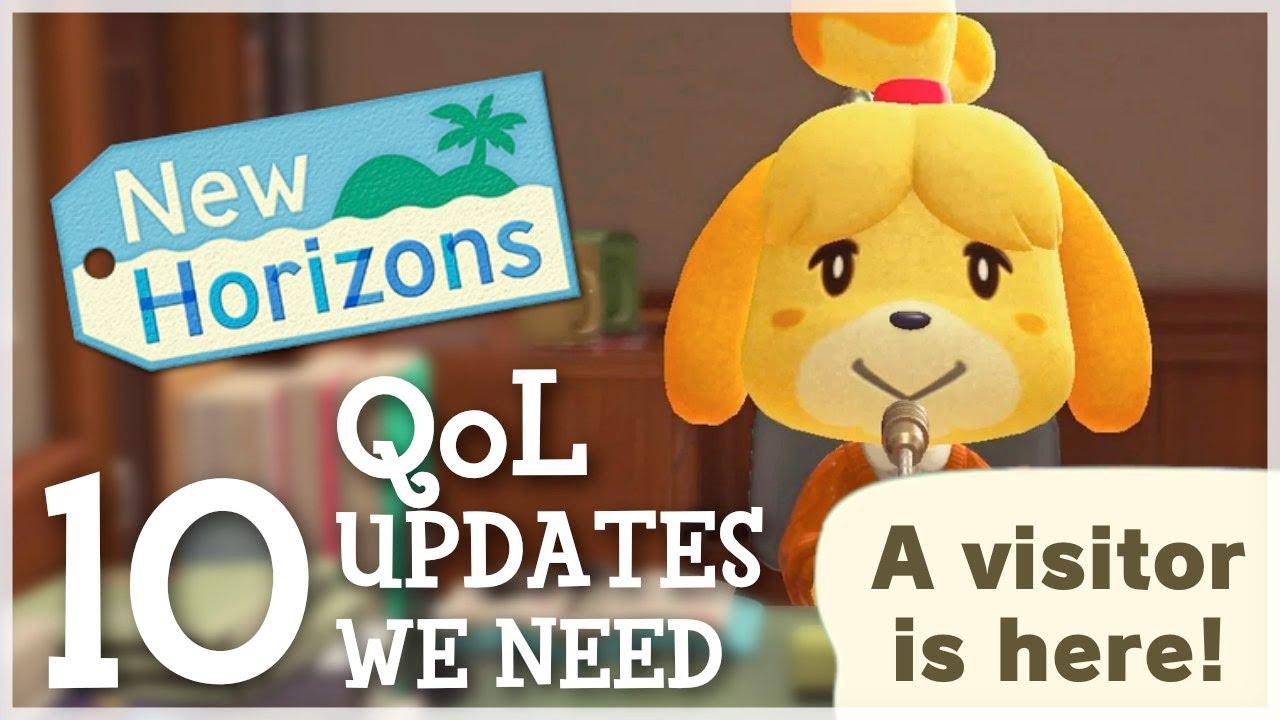 Animal Crossing New Horizons - 10 Quality of Life Updates We NEED!