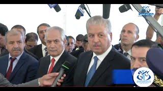 الوزير الأول في زيارة عمل وتفقد بالجزائر العاصمة