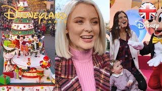 DISNEYLAND PARIS | Famous Faces Join The Christmas Celebrations! | Official Disney UK