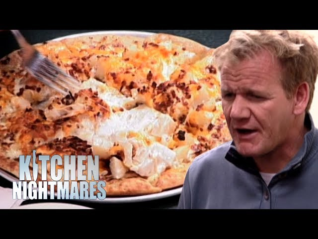"Gordon is Served ""The Weirdest Pizza I've Ever Seen!"" 