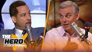LeBron, Lakers have a lot of room to improve, talks Zion's injury — Chris Broussard | NBA | THE HERD