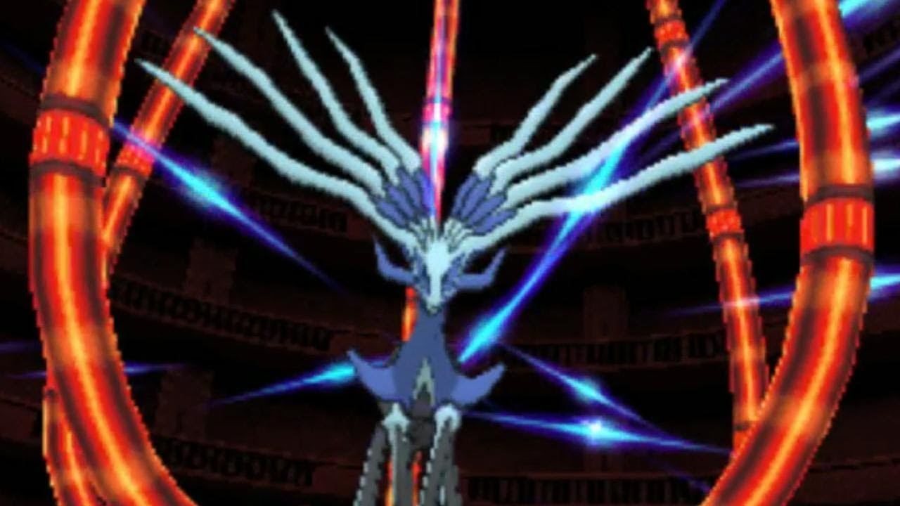 Pokemon x walkthrough 47 legendary xerneas youtube - Pokemon x legendaire ...
