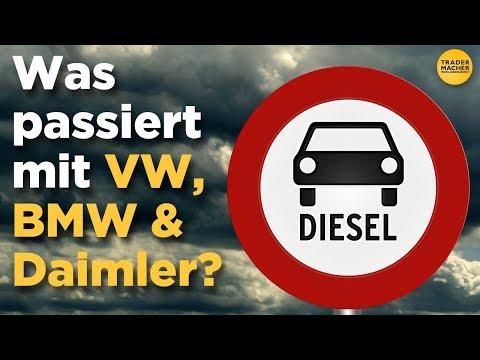 Diesel-Verbot: Was passiert mit VW, BMW und Daimler?