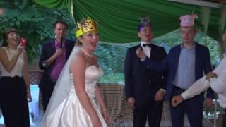 сказка Три поросенка свадьба Дмитрий и Наталья