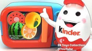 Kinder Mascot Man Just Like Home Microwave Spiderman Princess Kinder Joy Transformers Surprise Eggs