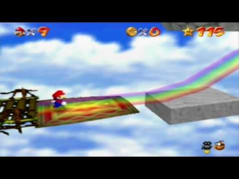 Let's Play Super Mario 64 Part 16 - Magic Carpet Ride