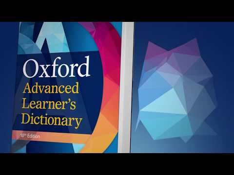 Look Inside The Oxford Advanced Learner's Dictionary 10th Edition