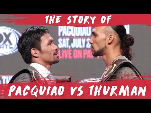 Manny Pacquiao vs. Keith Thurman live streaming results, round by round updates