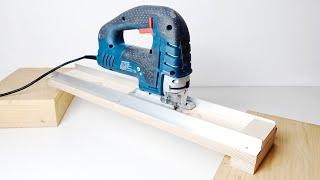 DIY Jigsaw guide 직소기 가이드 지그 만들…