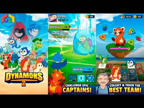 Dynamons 2 Android Gameplay HD