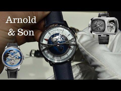 Arnold & Son Saat İncelemesi + Angelus Saat Markası
