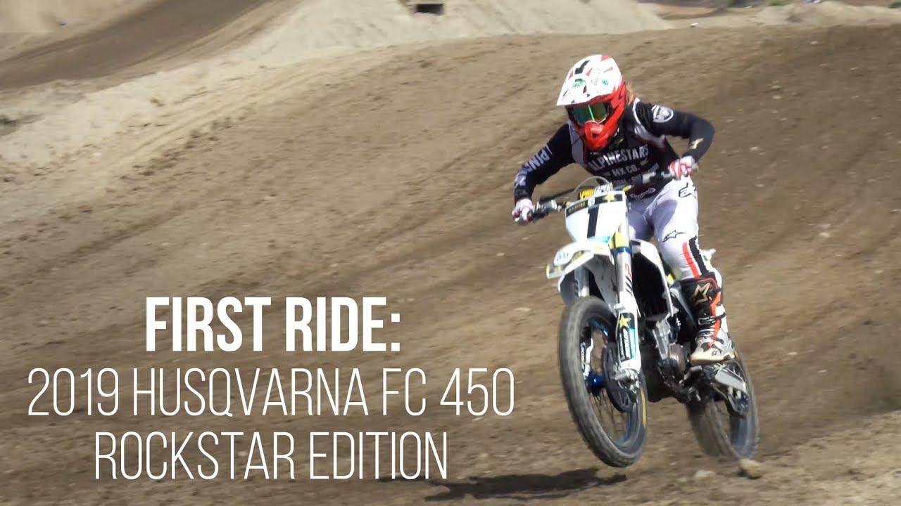 2019 Husqvarna FC 450 Rockstar Edition