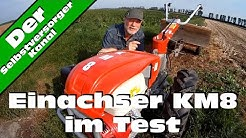 Einachser KM8 im Test