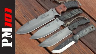 My 4 Favorite TOPS Survival/Bushcraft Knives - Preparedmind101 (and The Leaf Blower Guy)
