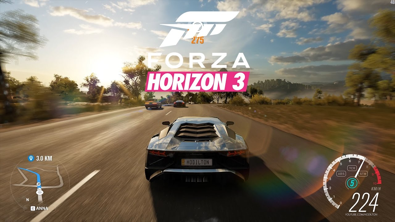 forza horizon 3 gameplay max settings 4k 60fps youtube. Black Bedroom Furniture Sets. Home Design Ideas