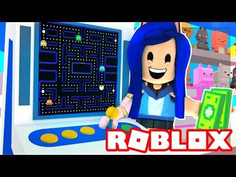 CREATING MY OWN ROBLOX ARCADE! I MAKE $1,000,000 MILLIONS DOLLARS! (Roblox Arcade Tycoon)