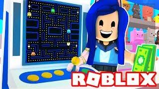 Creating My Own Roblox Arcade! I Make $1,000,000 Dollars!  Roblox Arcade Tycoon