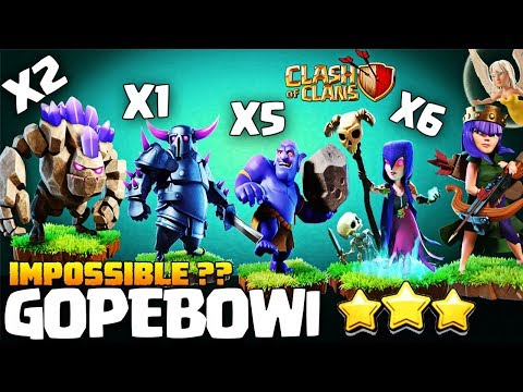 METAL MILITIA : QWEENWALK + GOPEBOWI Th9 New Attack Strategy 2018 | Best Th9 Attack Clash Of Clans