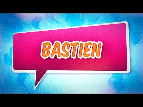 Joyeux anniversaire Bastien
