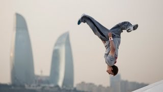 Parkour in Baku City - Ryan Doyle 2013(Climb to more adventures here http://win.gs/1aXUVRM Watch the Story Clip: http://youtu.be/cgizoke64c4 Check out http://win.gs/1graqDm for more free running ..., 2013-04-25T12:00:26.000Z)