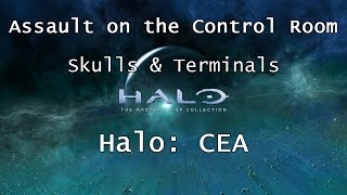 Halo: MCC [Halo: CEA] | Skulls & Terminals - Mission 5 - Assault on the Control Room | Collectibles